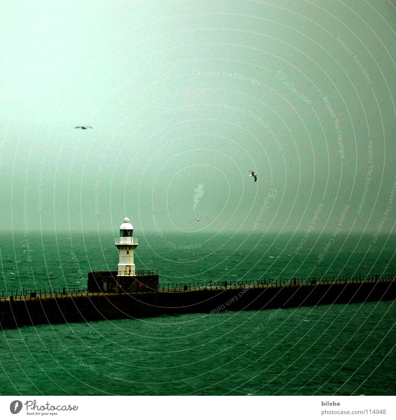 Water Ocean Green Dark Sadness Lanes & trails Watercraft Going Fog Horizon Grief Harbour Direction Radiation Conduct Lighthouse