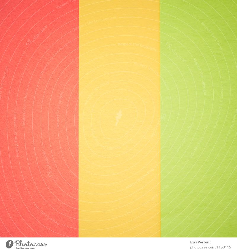 R|G|G Design Handicraft Line Esthetic Bright Multicoloured Yellow Green Red Colour Illustration Graph Graphic Background picture Structures and shapes Balance