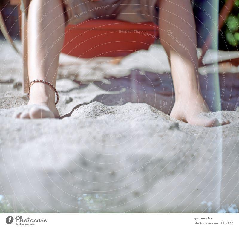 Vacation & Travel Summer Relaxation Warmth Sand Legs Feet Jewellery Deckchair Bar Medium format Beach bar