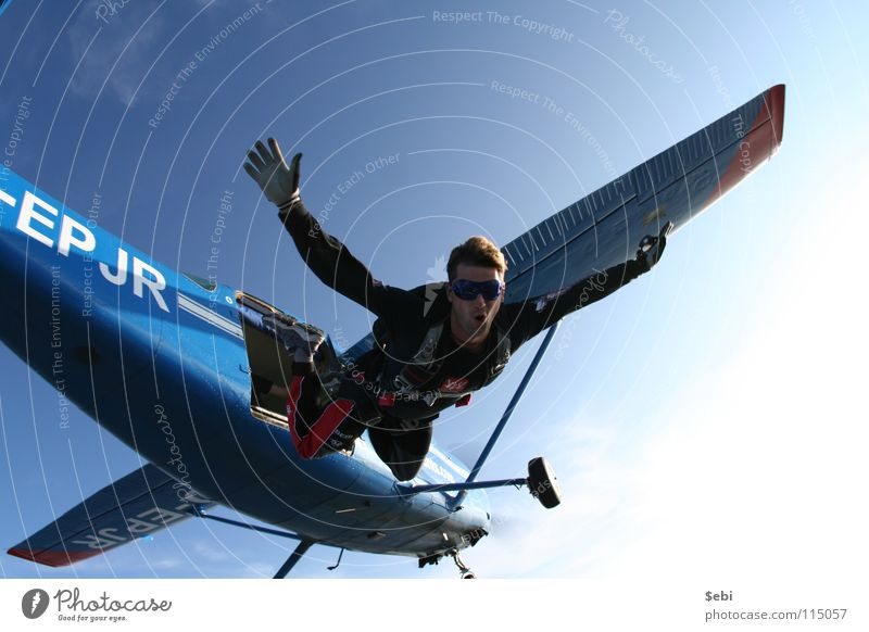 Leisure and hobbies Flying sports Parachute Skydiving