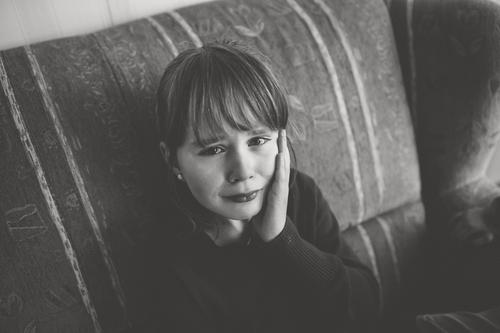 sorrow Funeral service Parenting School Schoolchild Girl Infancy Youth (Young adults) Argument Sadness Cry Gloomy Emotions Moody Compassion To console