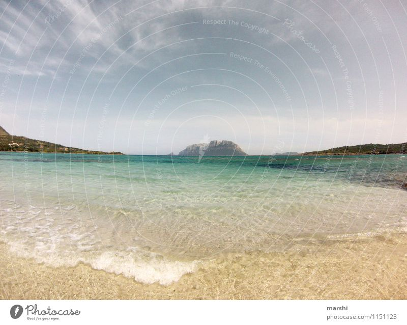 Sardinia Environment Nature Landscape Sky Spring Summer Weather Beautiful weather Mountain Coast Beach Bay Ocean Island Moody Travel photography Far-off places