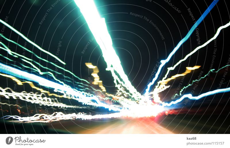 carwars Red Yellow Light Rear light Speed Transport White Gray Diffuse Dark Night Abstract Movement Highway Laser War Evening Lantern Strike Car Long exposure