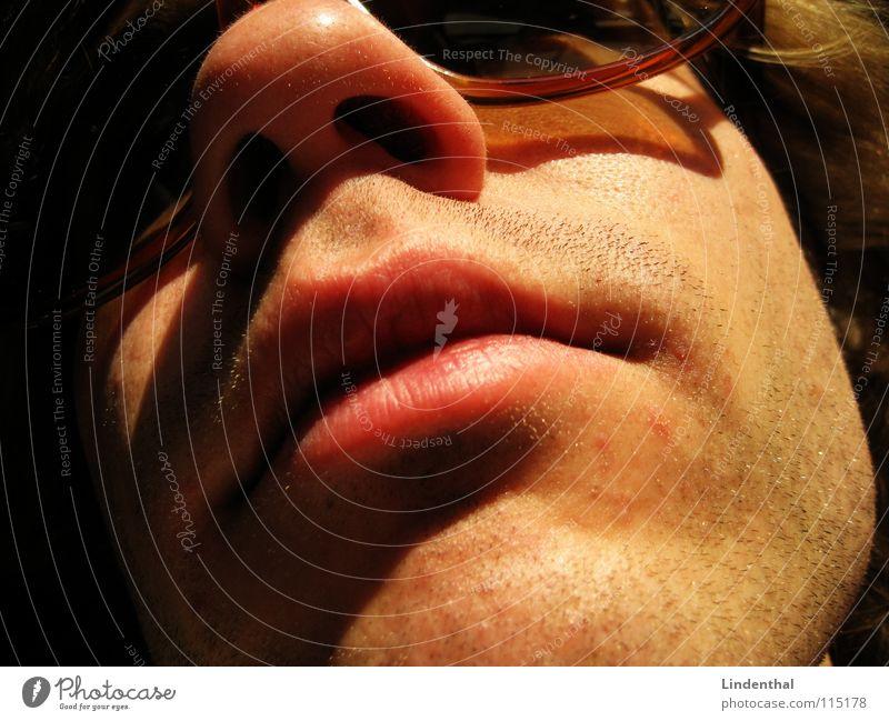 Man Face Hair and hairstyles Mouth Nose Eyeglasses Lips Facial hair Radiation Sunglasses Stopper Nostril Nasal hair