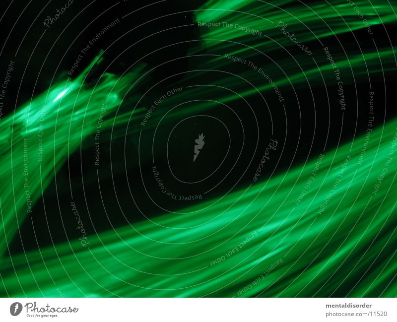 Green Black Lamp Movement Speed Circle Stripe Statue Rotate