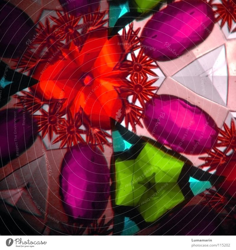 Positive thinking Kaleidoscope Multicoloured Geometry Light Reflection Breakage Pink Beautiful Happiness Joy Optimism Hope Desire Dream Deception Precious stone