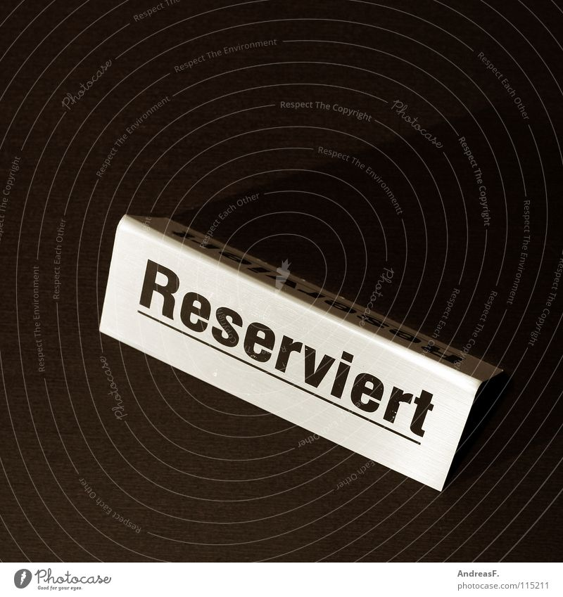 Reserved. Safety (feeling of) Places Table Restaurant Crowded Event Betrothal Tavern Seating Gastronomy Contract Signage seat reservation Signs and labeling