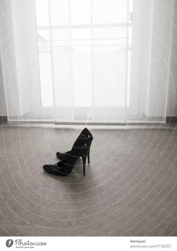 promises Fashion Leather Footwear High heels Walking Elegant Eroticism Glittering Cold Kitsch Modern Black Conceited Esthetic Pride high high-heeled shoe