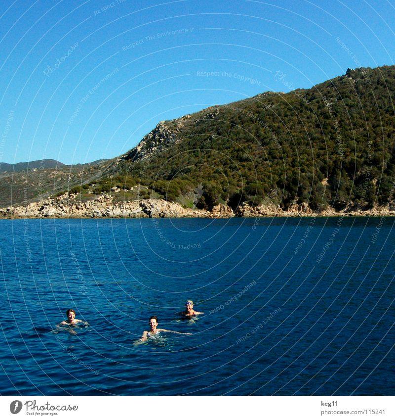 Woman Sky Blue Water Vacation & Travel Ocean Summer Beach Joy Clouds Relaxation Mountain Movement Coast Sand Friendship