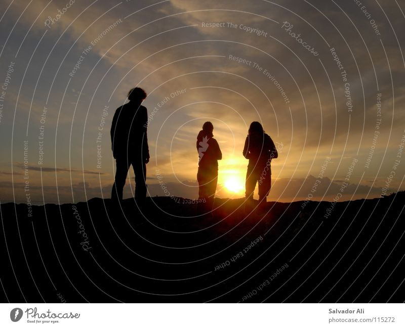 Beautiful Sun Plant Joy Beach Clouds Think Warmth Orange Coast Going 3 Island Vantage point Stand Physics