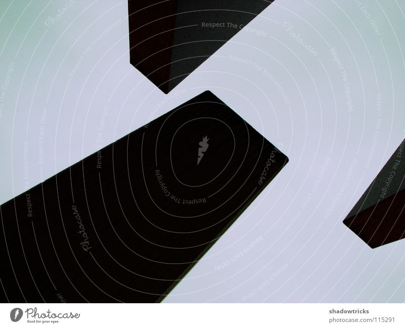 Sky White Black Dark Gray Bright Architecture Concrete Part Illustration Weight Geometry Cyan Block Heavy Magenta