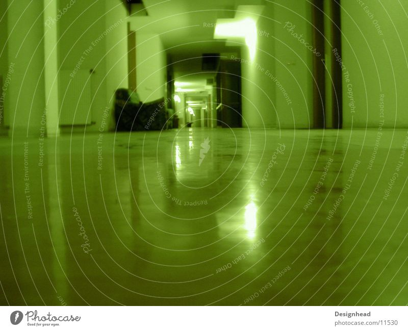 Green Architecture Sofa Hallway