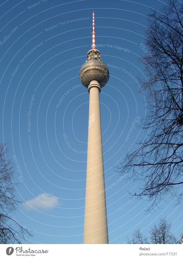 Berlin Architecture Tower Berlin TV Tower Alexanderplatz