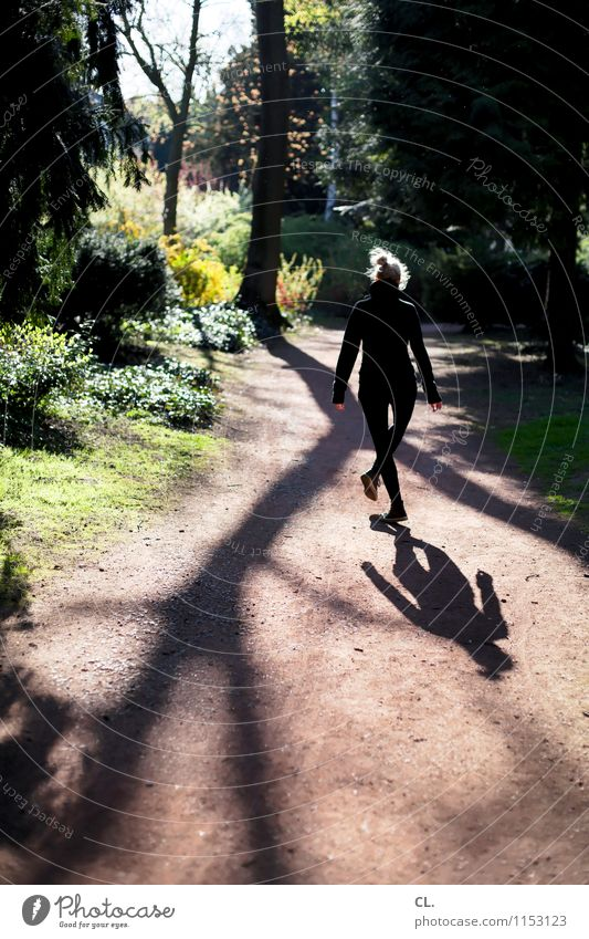 Human being Woman Nature Tree Landscape Joy Forest Adults Environment Life Emotions Movement Feminine Funny Lanes & trails Happy