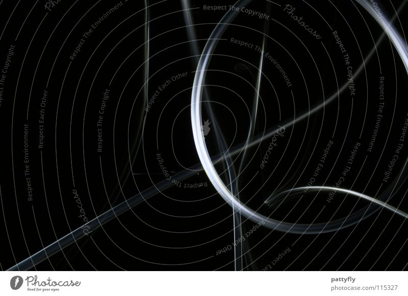 LiGhtS² Stripe Long exposure Art Round Circle Strip of light White Dark Blur Colour Shadow Lighting Low-key Dark background Copy Space left Background picture