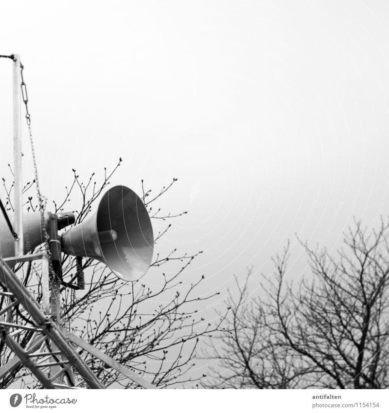 White Black Sports Gray Moody Technology Communicate Telecommunications Target Loudspeaker Loud Megaphone