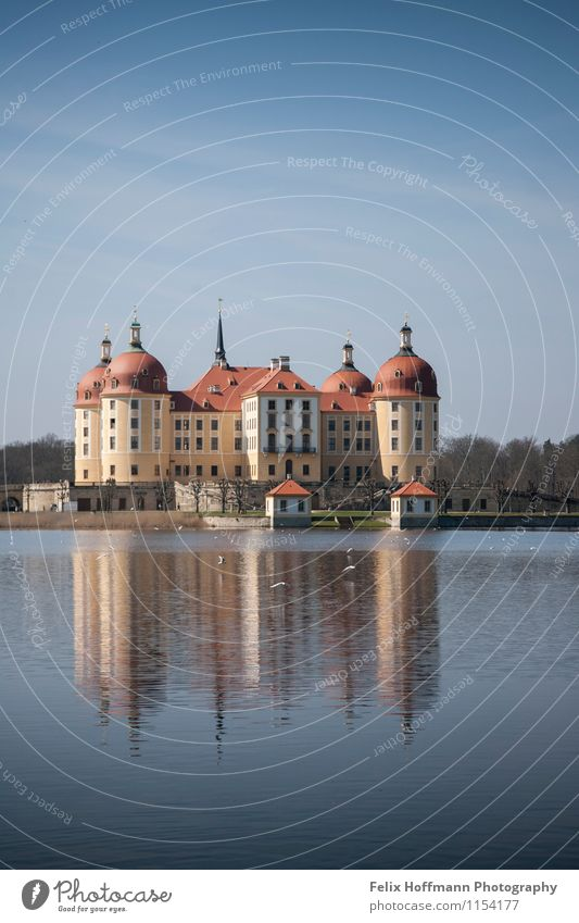 Castle at the lake Vacation & Travel Tourism Trip Sun Dream house Culture Town House (Residential Structure) Architecture Tourist Attraction Lock Elegant