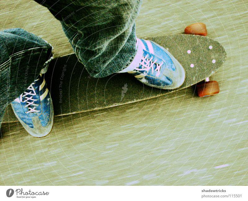 Blue Red Street Movement Gray Footwear Legs Concrete Transport Speed Jeans Driving Pants Skateboarding Skateboard Coil