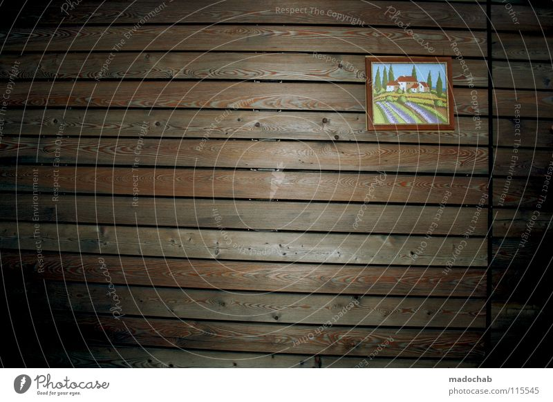 Nature Calm House (Residential Structure) Loneliness Wall (building) Wood Wall (barrier) Brown Flat (apartment) Background picture Empty Romance Peace Image