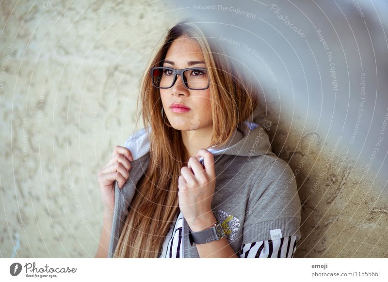 spectacled Feminine Young woman Youth (Young adults) 1 Human being 18 - 30 years Adults Fashion Eyeglasses Long-haired Hip & trendy Beautiful Asians