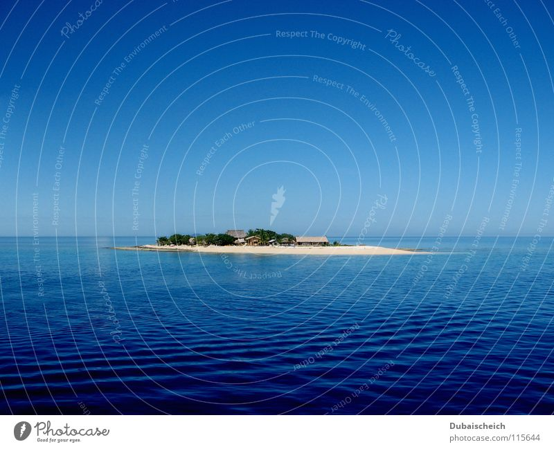 Lonelyness Water Ocean Beach Vacation & Travel Loneliness Watercraft Waves Coast Island Caribbean Sea Pacific Ocean Fiji Islands