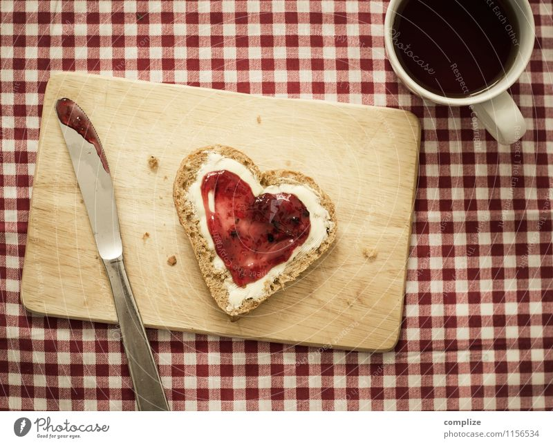 Eroticism Joy Love Eating Happy Food Lifestyle Contentment Nutrition Beverage Heart Sign Romance Retro Coffee Kitsch