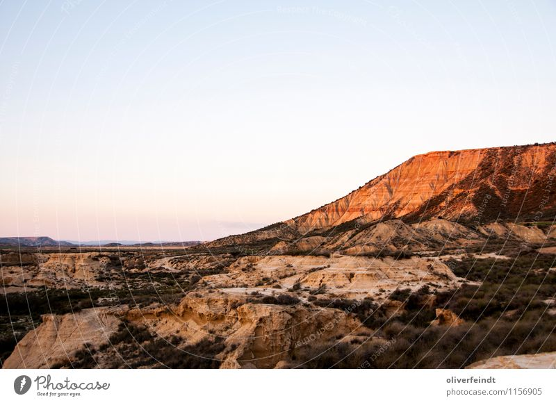 Spain X Trip Adventure Far-off places Freedom Summer vacation Environment Nature Landscape Elements Earth Sand Sky Cloudless sky Horizon Sunrise Sunset