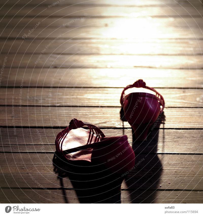 Let's go, then. Footwear Summer Light Sunset Red Dusk Clothing Luxury Hallway hozboden
