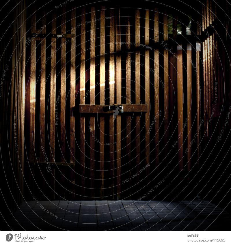 Dark Wood Fear Door Closed Dangerous Threat Castle Derelict Hut Panic Cellar Attic Wooden door
