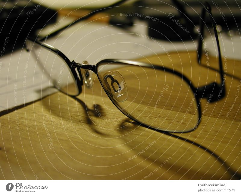 Eyeglasses Things Desk
