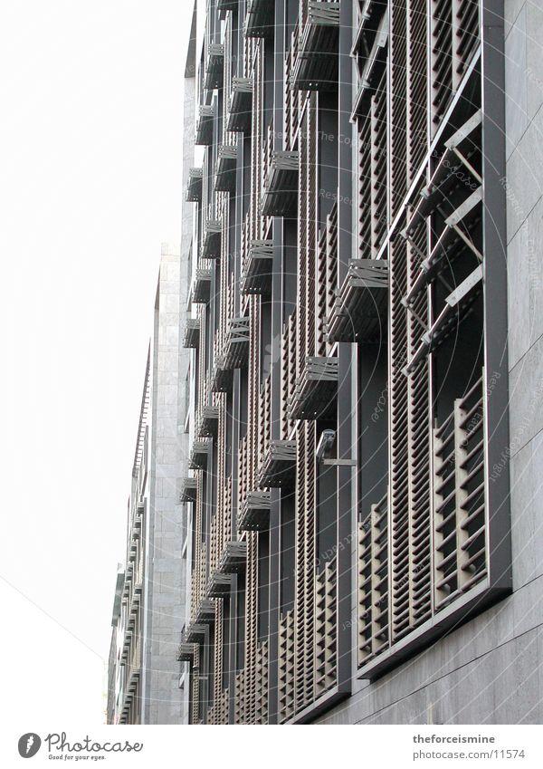 Window Gray Graffiti Architecture Facade Modern