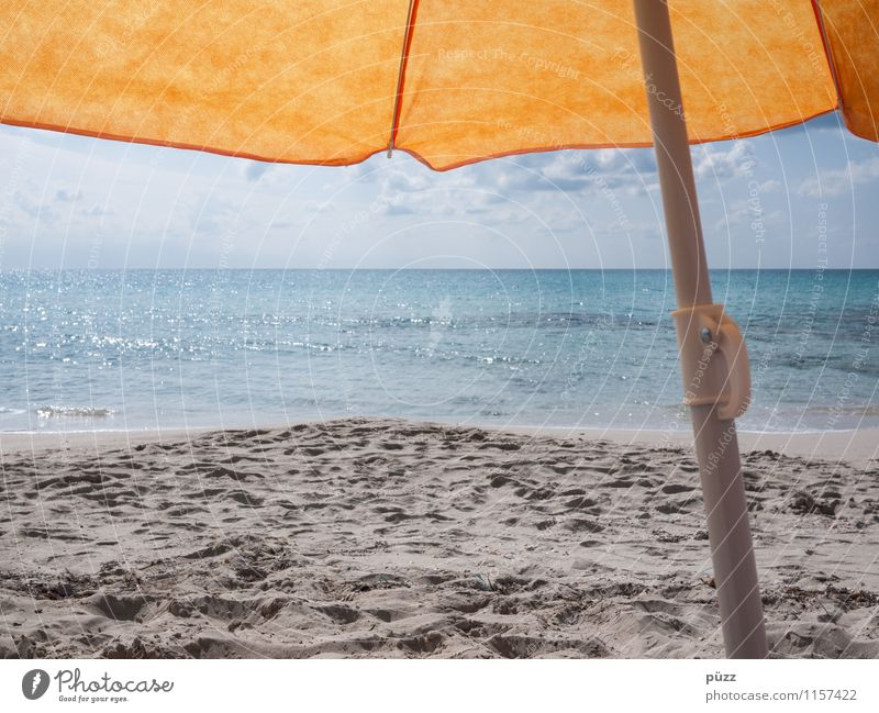 Vacation again Vacation & Travel Tourism Summer Summer vacation Sun Sunbathing Beach Ocean Sky Beautiful weather Waves Coast Mediterranean sea Island Formentera