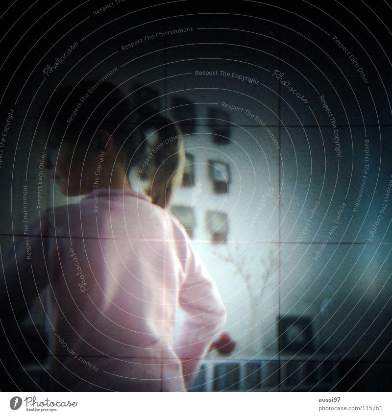Child Girl Grid Viewfinder Hazy Photographic technology Lightshaft