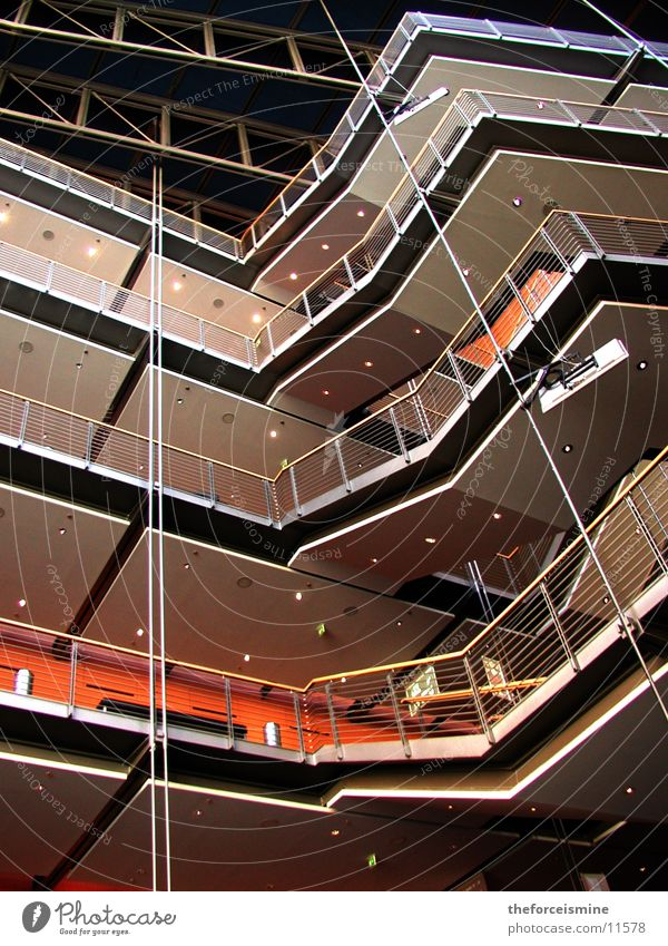 Theater am Potsdamer Platz Interior design Story Architecture Modern Level Stairs constructed Theatre