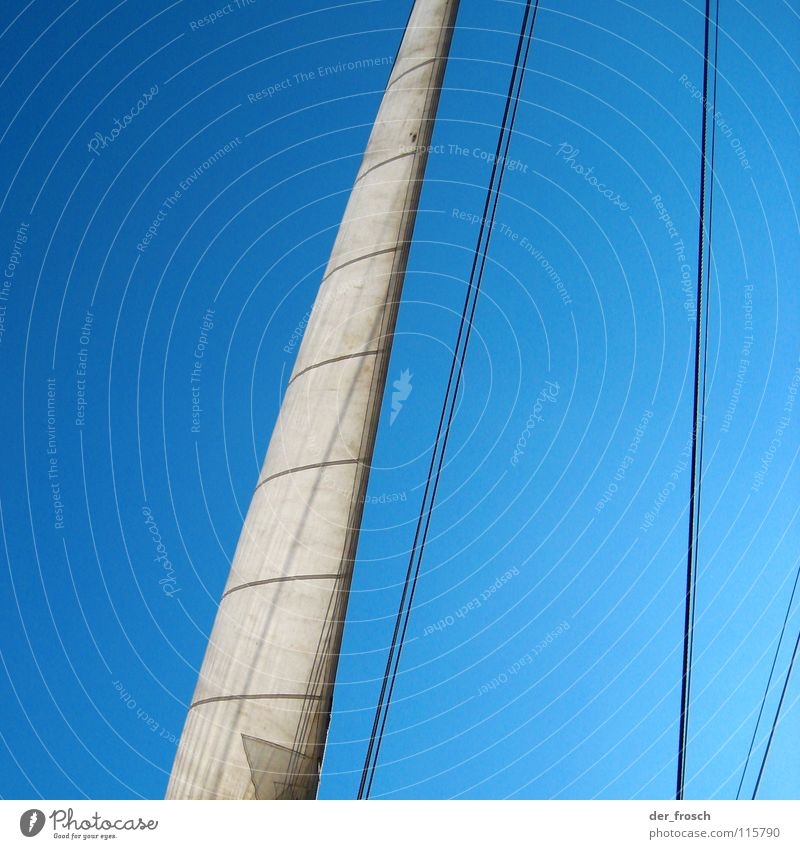Sky White Blue Sports Playing Line Watercraft Wind Rope Sailing Navigation Electricity pylon Wanderlust Ahoy