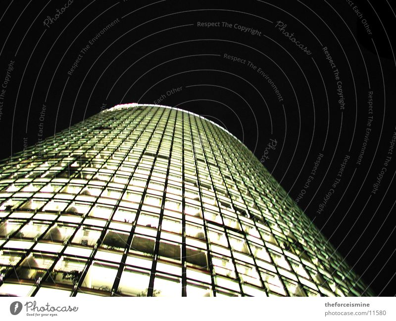 Architecture Lighting High-rise Glas facade