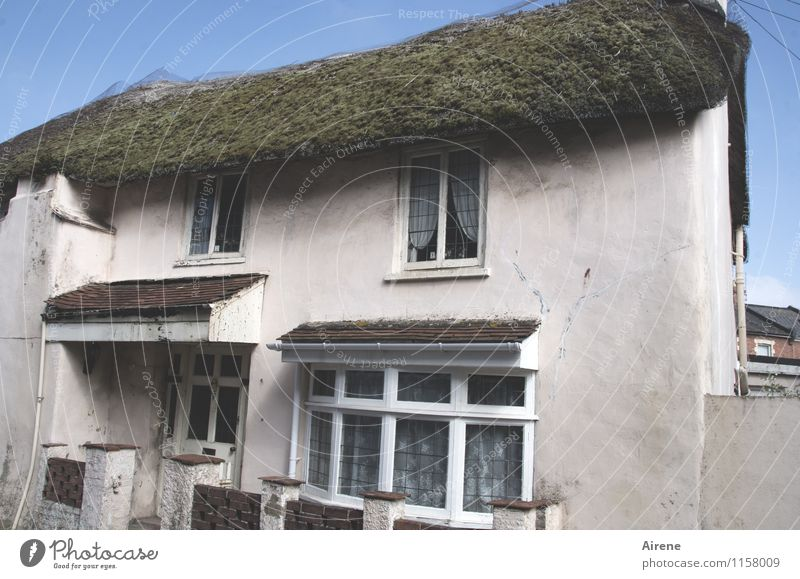 durable | natural roof England Village Fishing village Small Town Old town Deserted House (Residential Structure) fishing house Country house old town house