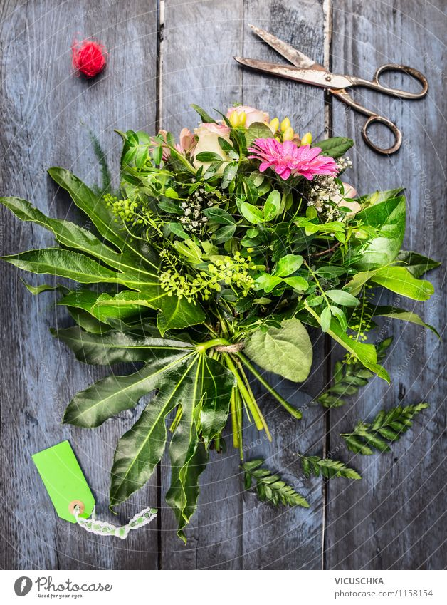 Nature Old Plant Summer Flower Leaf Love Blossom Style Feasts & Celebrations Garden Leisure and hobbies Design Decoration Birthday Table