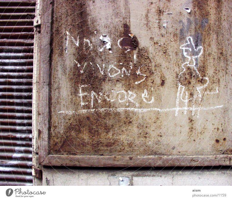 Old Wall (building) Graffiti Wall (barrier) Decline