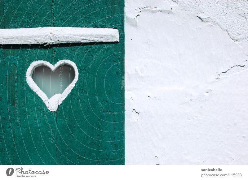 White Love Wall (building) Window Wood Heart Decoration Salzkammergut Lake Wolfgang
