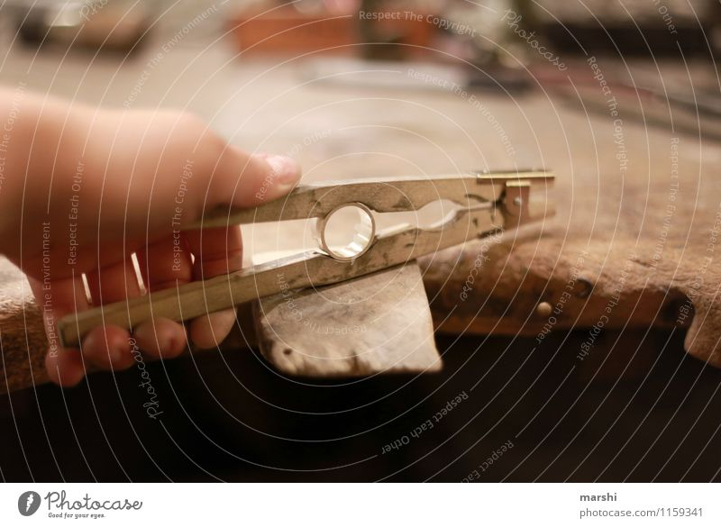 Ring forging II Leisure and hobbies Work and employment Profession Craftsperson Moody Tool Forge Wrought ironwork Circle Jewellery Work of art Pair of pliers