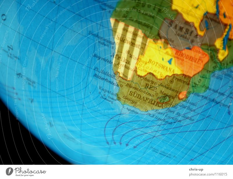 South Africa Globe Map of the World Continents Current Planet Rotation Rotate Blur Americas Europe Asia Ocean Atlantic Ocean Pacific Ocean Motion blur Turkey