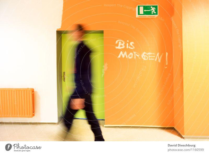 Human being Far-off places Life Wall (building) Movement School Office Door Body Characters Speed Study Academic studies Change Break School building