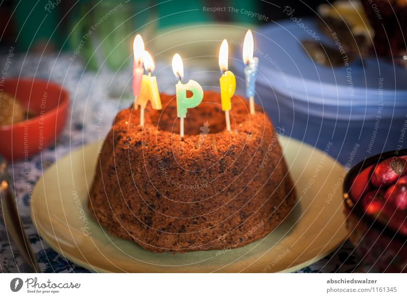 Birthday Cake To have a coffee Eating Feasts & Celebrations To enjoy Delicious Colour photo Interior shot Deserted Artificial light Shallow depth of field