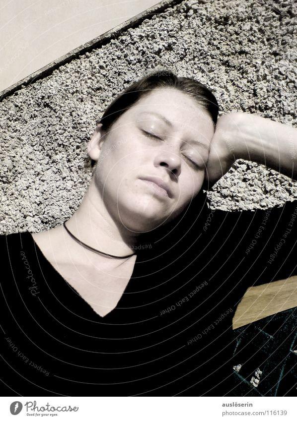 digressing Sleep Thought Dream Vacation & Travel Majorca Sunbathing Boredom Transience Line Think indulge