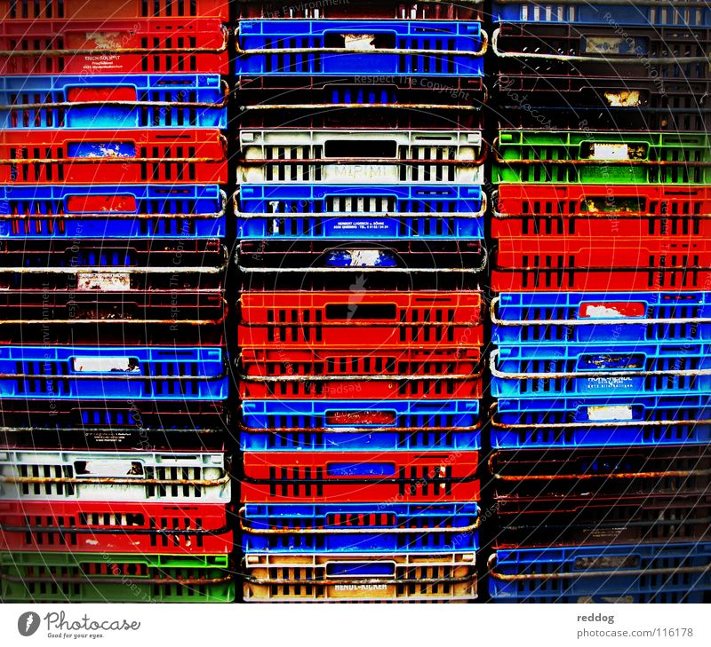 Colour Life Success Logistics Obscure Markets Crate Stack