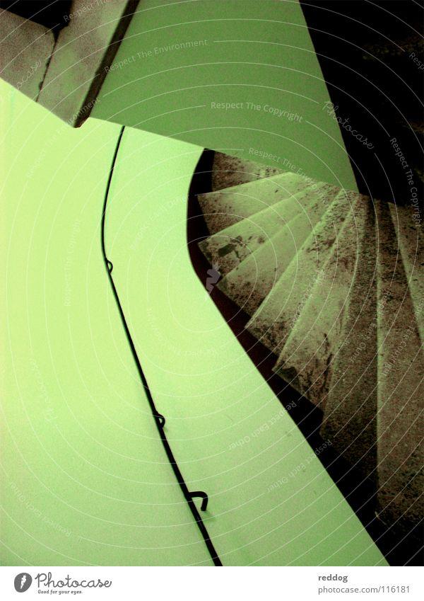 Dark Line Fear Derelict Panic Staircase (Hallway) Sacrifice Chase Green undertone