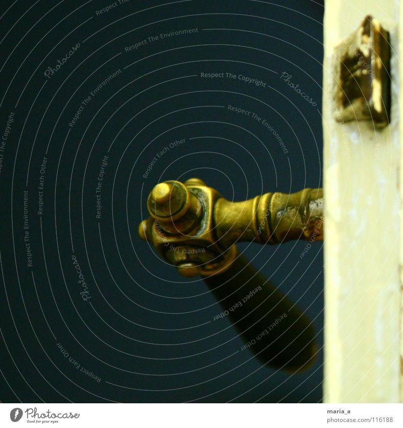 Old Dark Wood Bright Fear Door Gold Broken Painting (action, work) Catch Castle Positive Key Expectation Panic Door handle