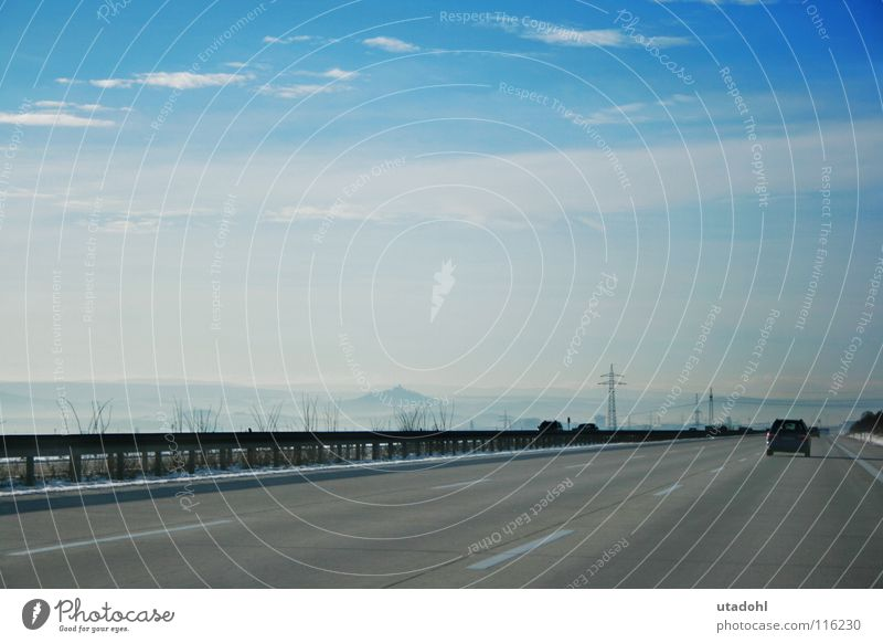 Long Road Sightseeing Highway Horizon Clouds Winter Snow Street Sky Car Landscape Far-off places cars freeway