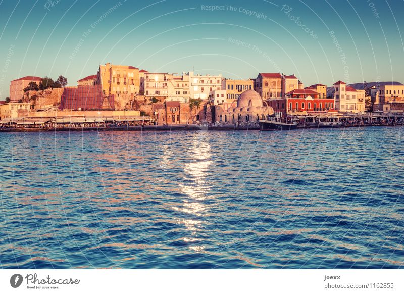 Chania Vacation & Travel Tourism City trip Summer Water Sky Sunlight Beautiful weather Port City Downtown House (Residential Structure) Facade